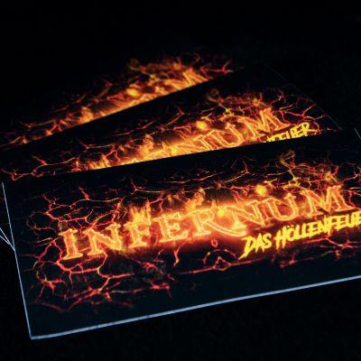 """Bildbeschreibung von """"Sticker Infernum""""."""