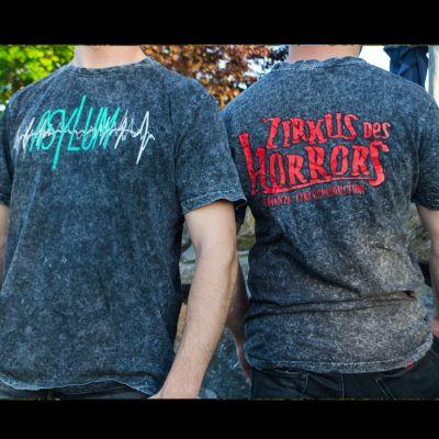 """Bildbeschreibung von """"T-Shirt Asylum""""."""